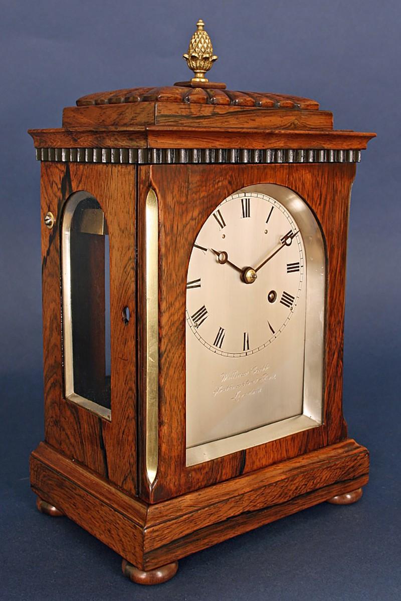 Small Rosewood mantel clock...