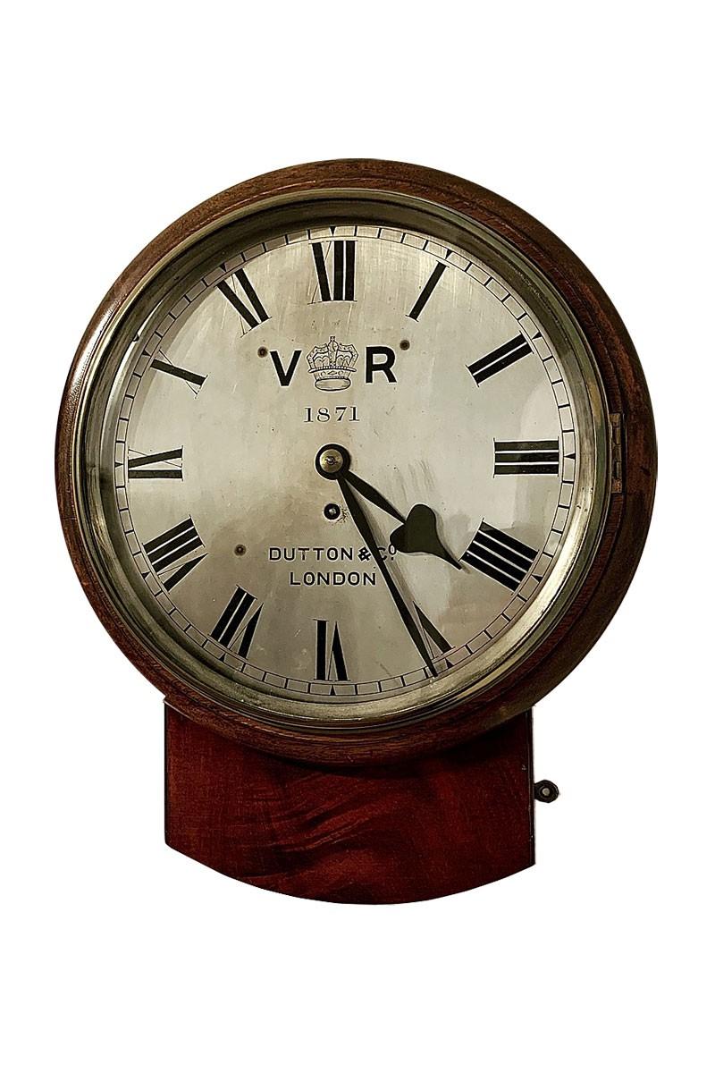Rare Wall Clock by Dutton &...