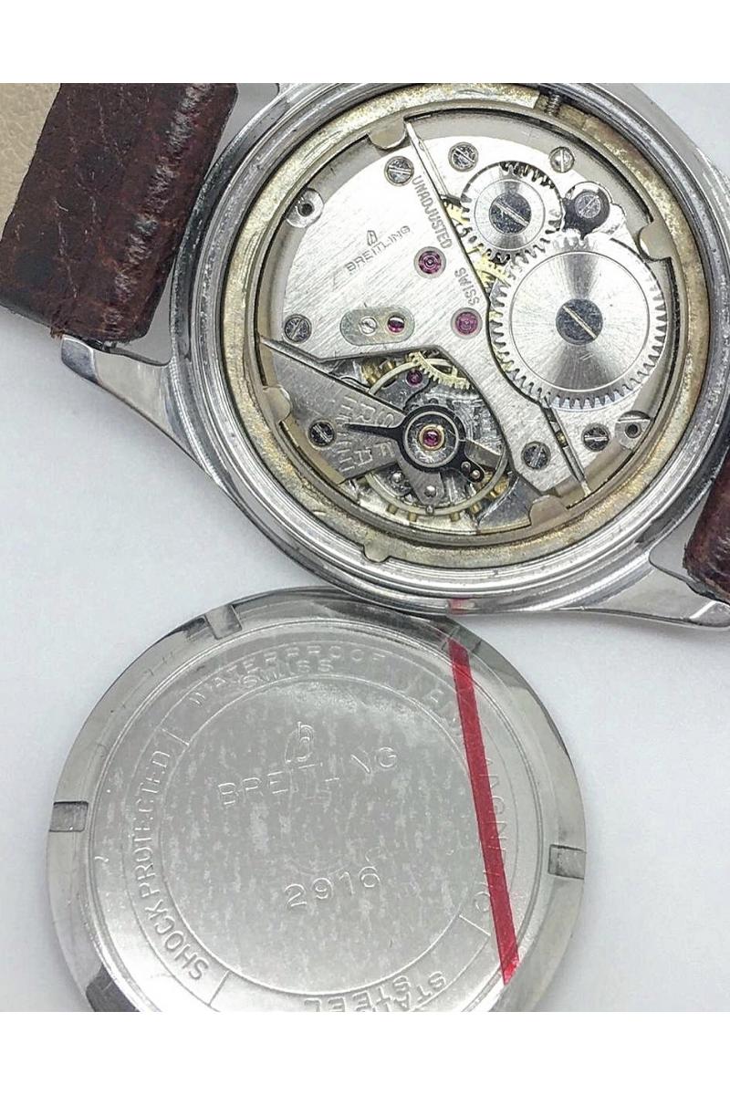 A 1950â Breitling 2916 Wristwatch