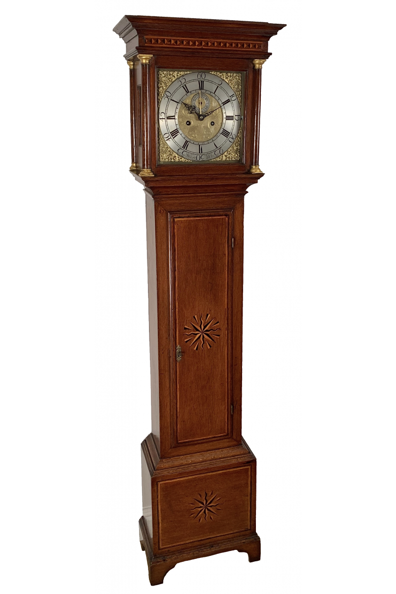 Somerset longcase clock by Alford of Wells