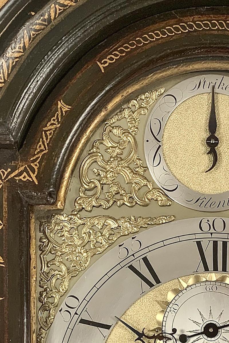 Chinoiserie Longcase Clock...