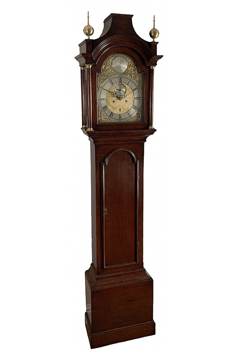 Regulator longcase clock by...