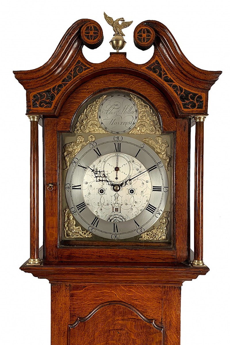 Scottish longcase clock by...