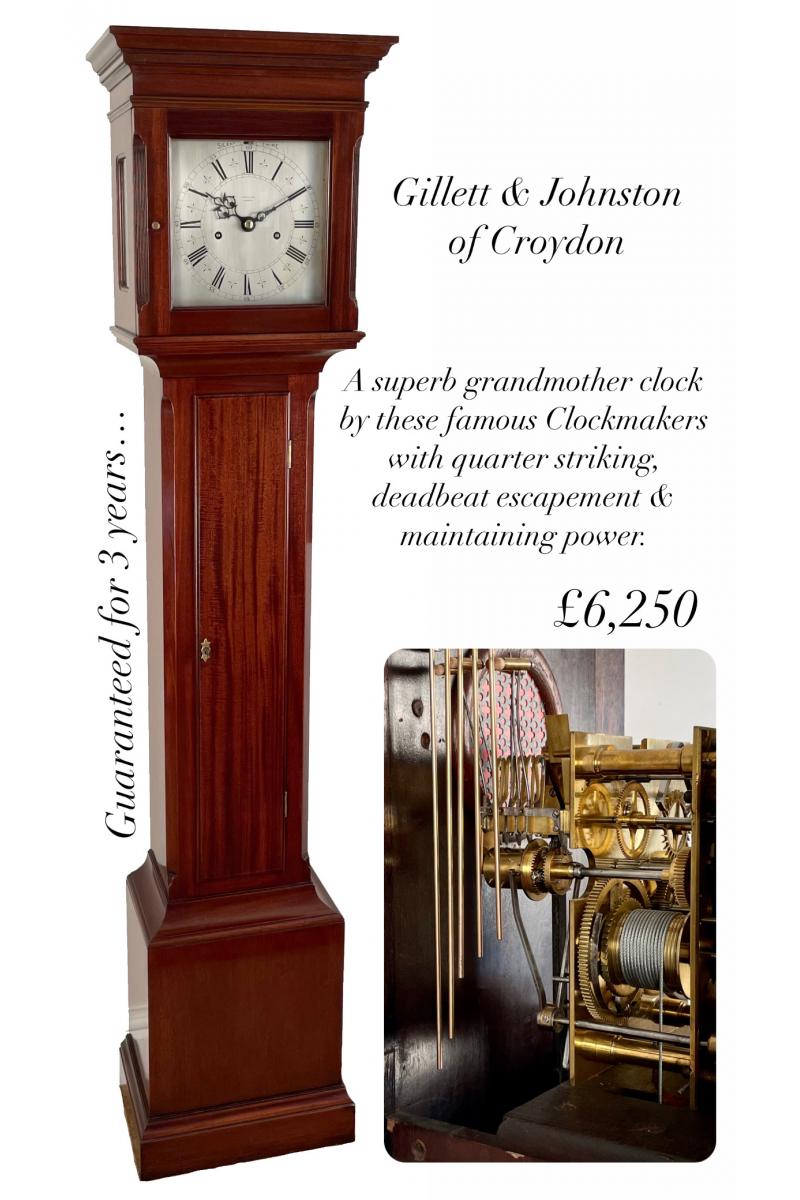 Regulator Grandmother Clock...
